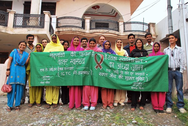 HIV & AIDS Clinic in India. Credit: David Taylor