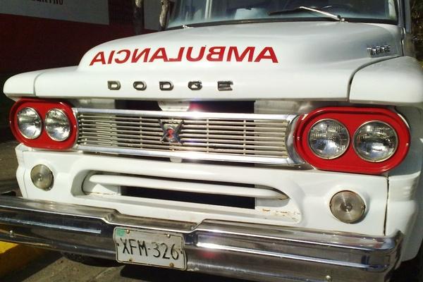 Cuban Ambulance (C) Alberto Cárdenas Almeida