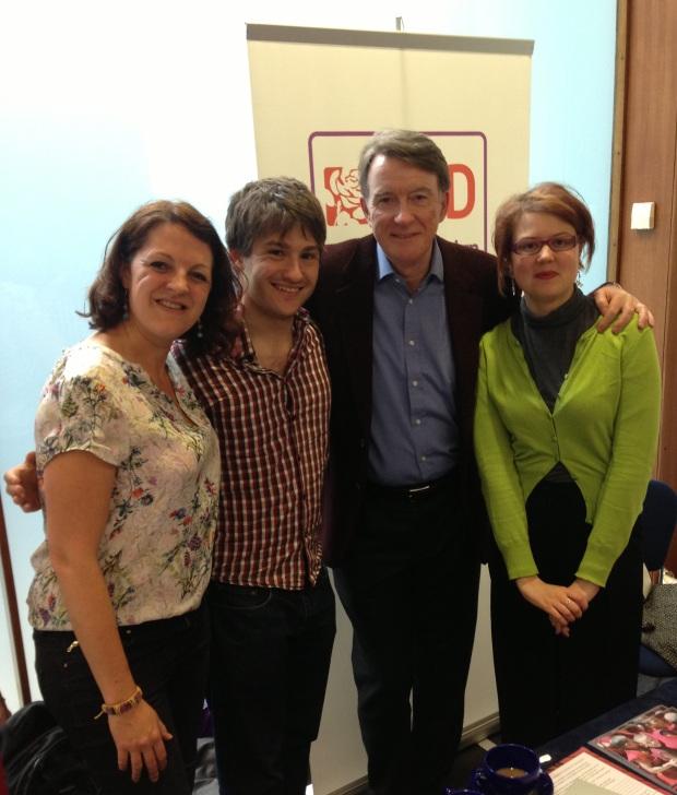 LCID members with Peter Mandelson