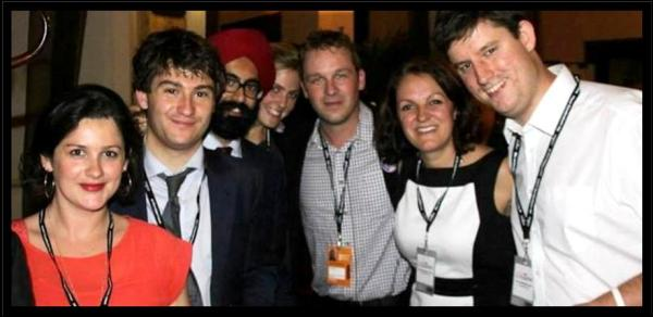 The LCID Exec at Labour Party Conference in Manchester