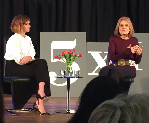 Emma Watson in Conversation with Gloria Steinem for Our Shared Shelf
